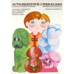 Car, Violin and Blot the Dog