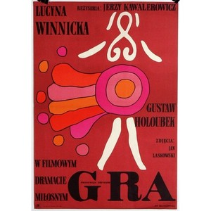 Gra, Polish Movie Poster