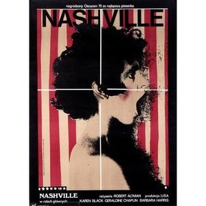 Nashville, polski plakat...