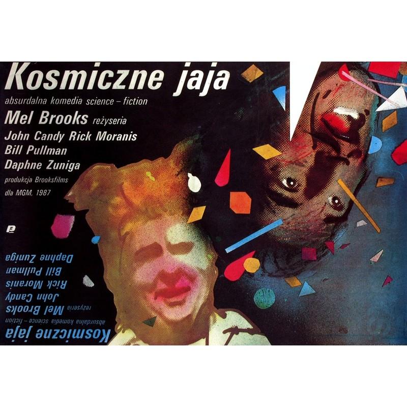 Spaceballs Polish Movie Poster
