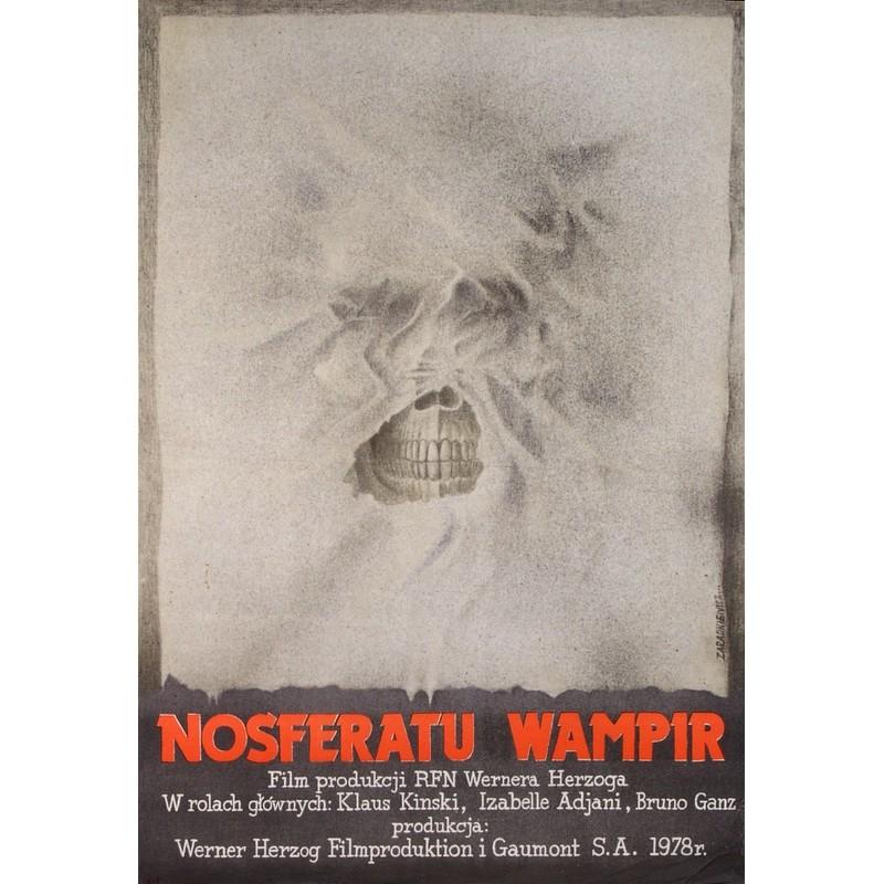 Nosferatu the Vampyre, Polish Movie Poster