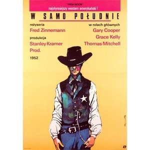 High Noon, Polish Movie Poster