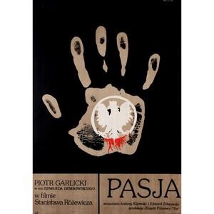 Pasja, polski plakat...