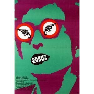 The Crook, Polish Movie Poster