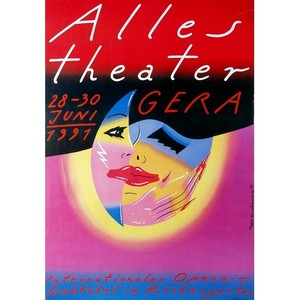 Alles Theater, Festival Poster