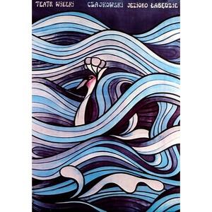 Swan Lake, Polish Opera Poster