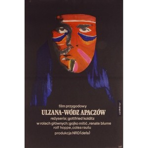 Ulzana, Polish Movie Poster