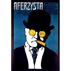 Aferzysta,  plakat filmowy,...