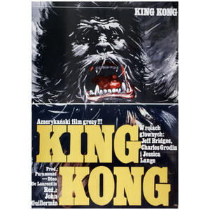 King Kong, Polish Movie Poster