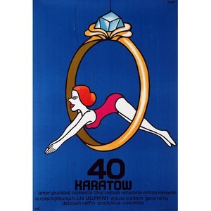 40 Carats, Polish Movie Poster
