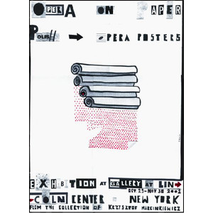 Opera on Paper, Polish Poster