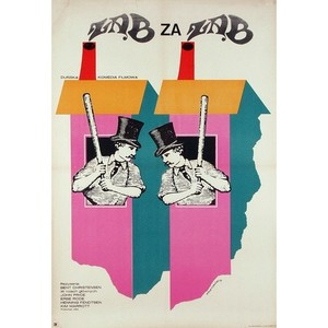 Naboerne, Polish Movie Poster
