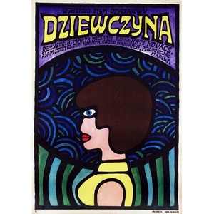 Girl, The, Polish Movie Poster