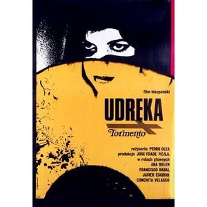 Udręka, polski plakat...