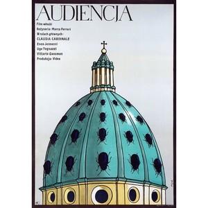Audiencja,  plakat filmowy,...