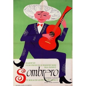 Sombrero, Polish Movie Poster