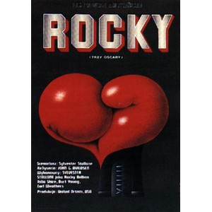 Rocky, Polish Movie Poster
