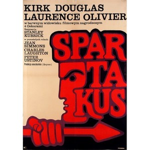 Spartacus, Polish Movie Poster