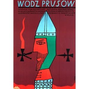 Wódz Prusów,  plakat...