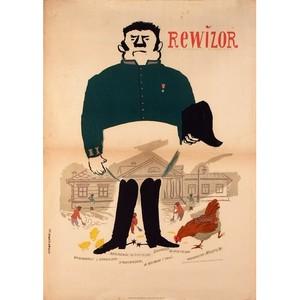 Rewizor, Polish Movie Poster