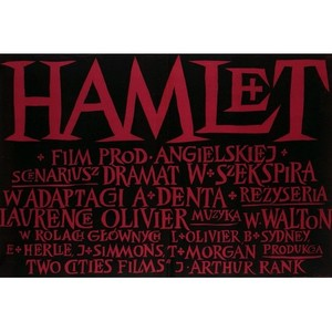 Hamlet, Polish Movie Poster