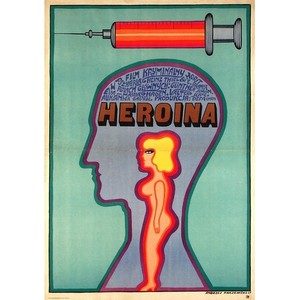 Heroin, Polish Movie Poster