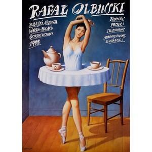 Plakat Rafał Olbiński,...