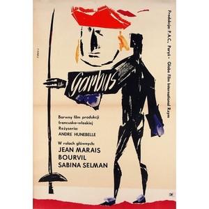 Le Bossu, Polish Movie Poster