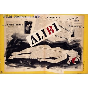 Alibi, Polish Movie Poster