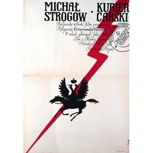Michał Strogow,  plakat...