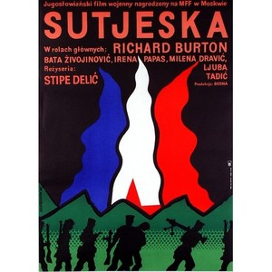 Sutjeska, Polish Movie Poster