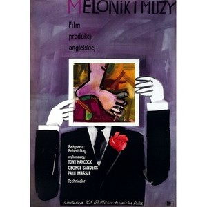 The Rebel, Polish Movie Poster