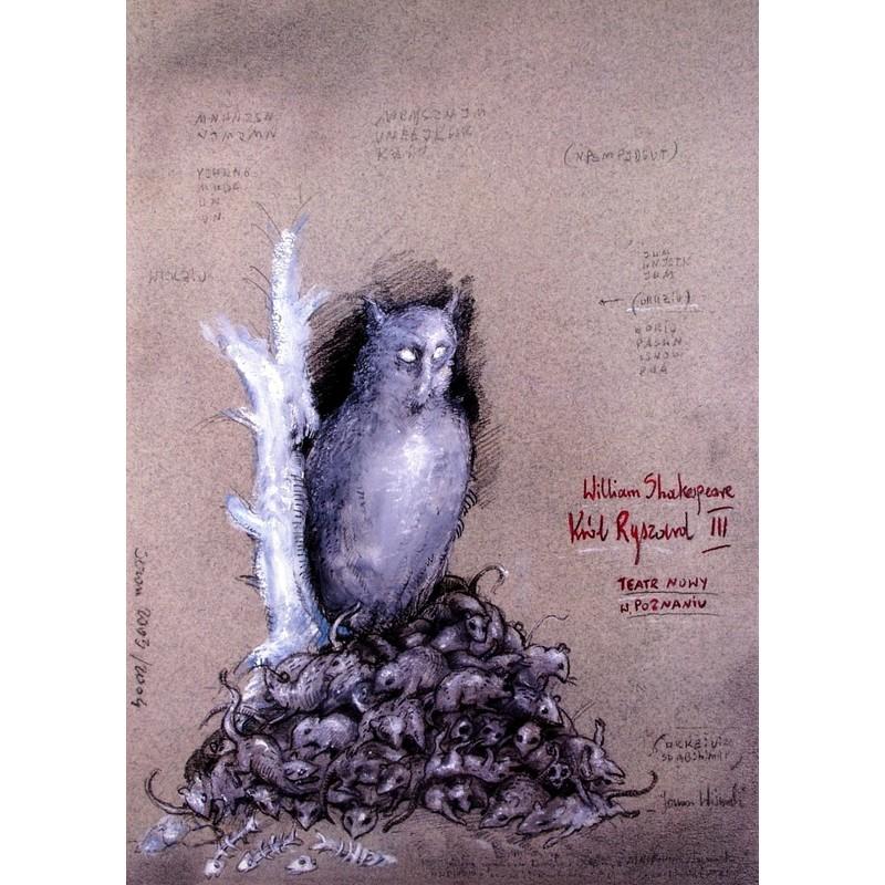King Richard Iii Shakespeare Polish Theater Poster