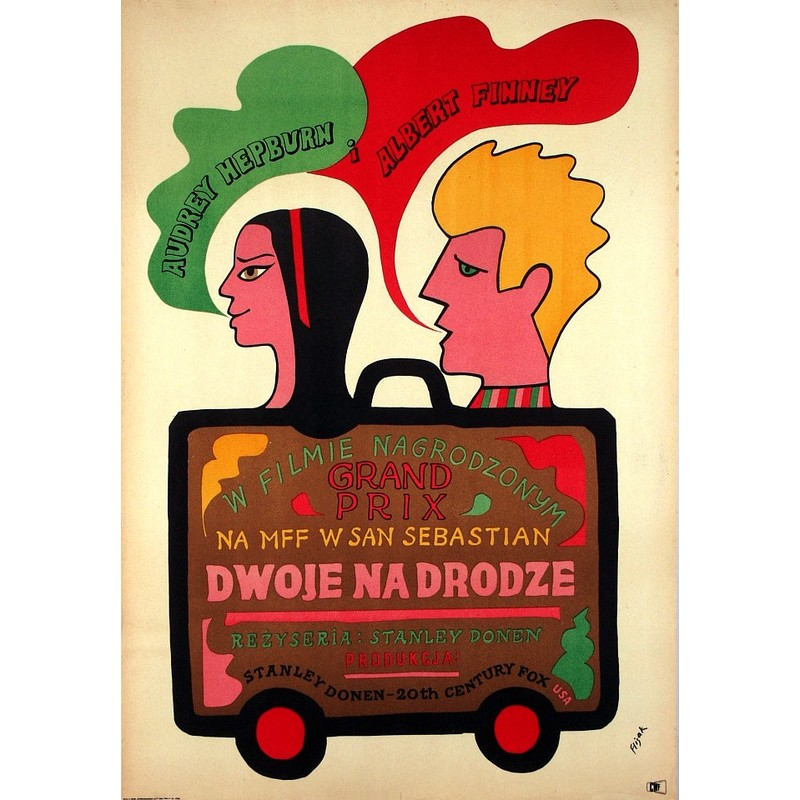 Two For The Road Polish Movie Poster