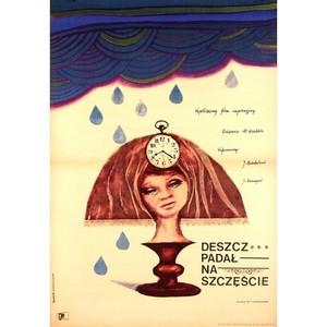Deszcz padal na szczescie,...