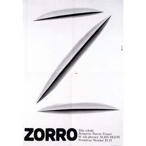 Zorro, Polish Movie Poster