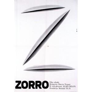 Zorro, Polish Movie Poster