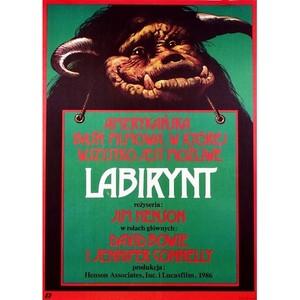 Labyrinth, Polish Movie Poster