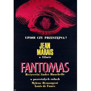 Fantomas, Polish Movie Poster