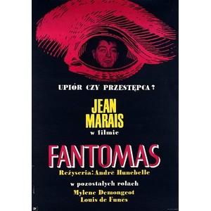 Fantomas, Polish Movie Poster