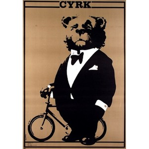 Bear with Bicycle, Polish...