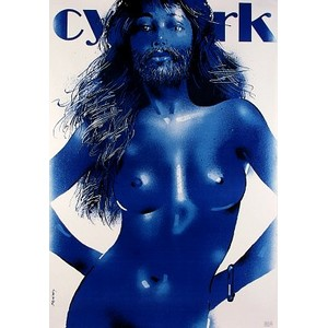 Blue woman with Beard,...
