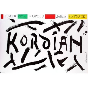 Kordian, Polish Theater Poster