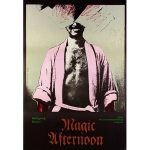 Magic Aftrnoon, plakat...