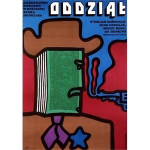 Posse, Polish Movie Poster
