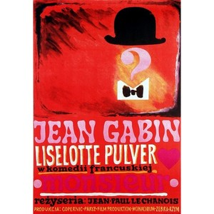 Monsieur, Polish Movie Poster