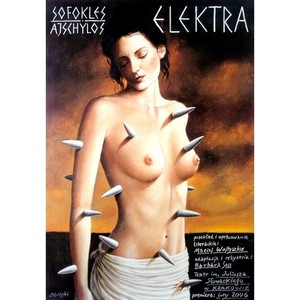 Electra, Polish Theater Poster