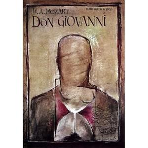 Don Giovanni, polski plakat...