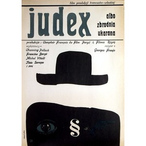 Judex, Polish Movie Poster