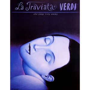 Traviata - Verdi, Opera Poster
